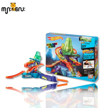 HW CS SPRING TV PLAY SET (Hot Wheels Color Splash Lab)