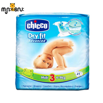 Chicco Baby Diaper - Midi (21pcs)