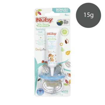 Teething gel with gum-eez teether