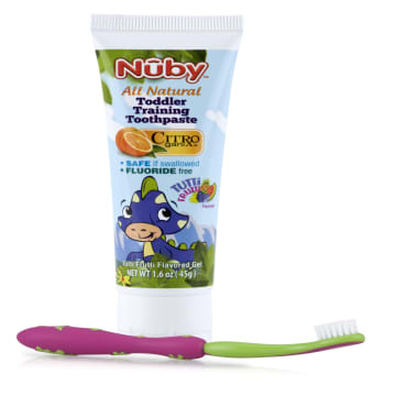 Nuby - Toddler Training Toothpaste &Toothbrush