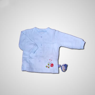 Baby Mommy Newborn Embroider Colour Shirt Size-3 (3-6 M)