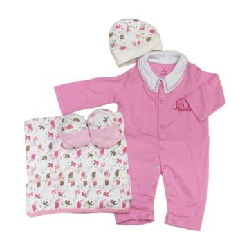 Gift Set 0-3M (Pink)