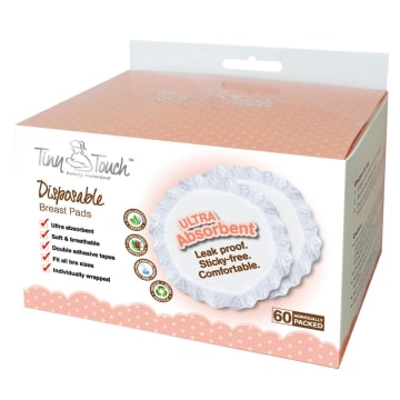 Tiny Touch Disposable Breast Pad ( 60pcs )