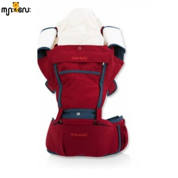 BothBaby Hip Seat (Red Ocean)