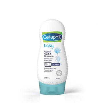 Cetaphil gentle wash & shampoo (230ml)