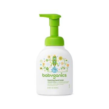 Babyganics Foaming Hand Soap, Chamomile Verbena (250ml)