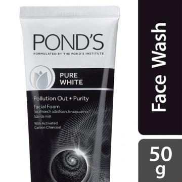 Ponds Pure White Facial Foam 50g