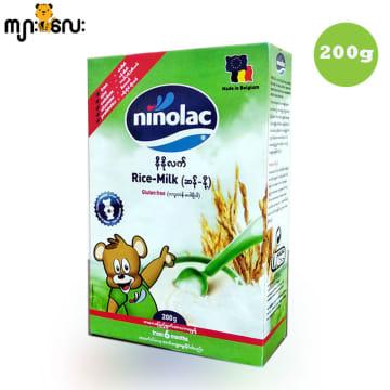 Ninolac-Rice Milk (Gluten Free) (Box) -200g
