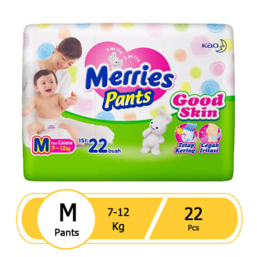 Merries Pants Good Skin M (22 pcs)