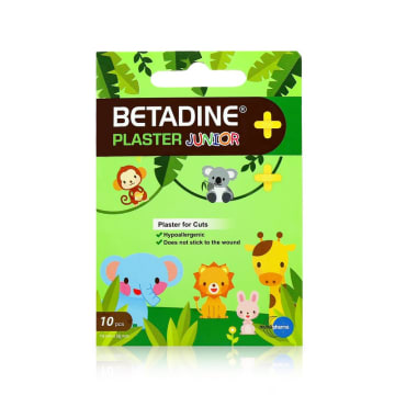Betadine Plastic Junior(10Pcs)