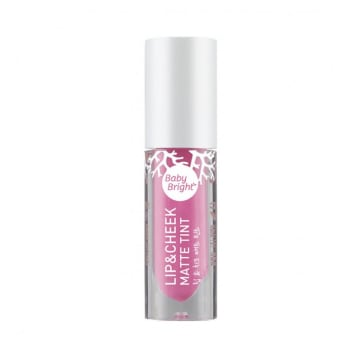 Baby Bright - Lip & Cheek Matte Tint#7 French Pink