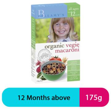Bellamy's Vegie Macaroni 12+
