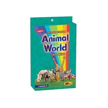 Animal World for Kids  (48 Cards)