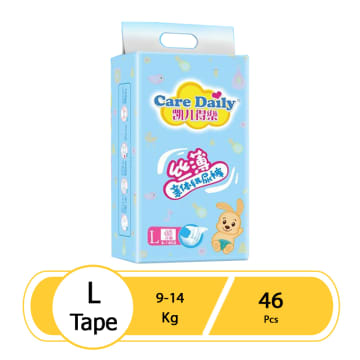 Care Daily Diaper Tape - L (46 Pcs)