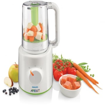 Philips AVENT Combined Steamer and Blender-SCF-870/20
