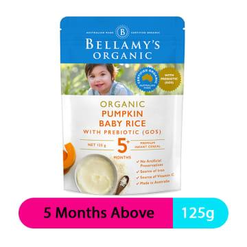 Bellamy's Pumpkin Baby Rice (5M+)