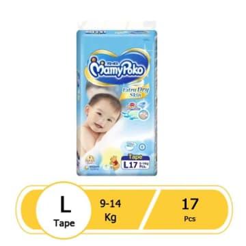 MamyPoko Tape- L17 Pcs