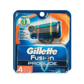 Gillette Fusion Proglide Refill Carts 4s