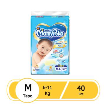 MamyPoko Tape- M40 Pcs