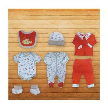Baby Shalom-7pcs အက်ႌSet-(3-6)Month