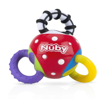 Nuby Playful Teether Twista Ball