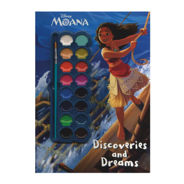 Disney Moana Dicoveries and Dreams