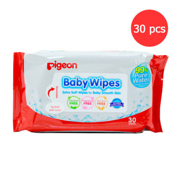 Baby Wipes Extra Soft Wipes for Baby Smooth Skin (30Pcs)