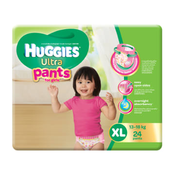 Huggies (Ultra Pants) XL-24 Girl