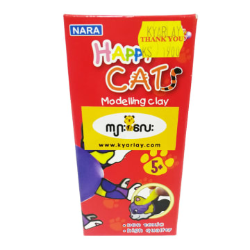 Modeling Clay with Animal BlOCK Happy Cats