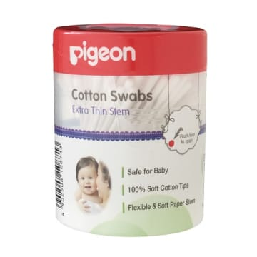 Pigeon  Cotton Swabs  (Extra Thin Stem) 200 pics.