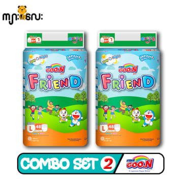 Goo.N Friend Pant -  L .48pcs ( Combo Set 2)