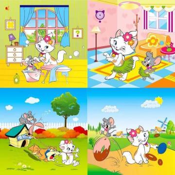 ကာတွန်းပုံဖော့ချပ် (2' x 2')