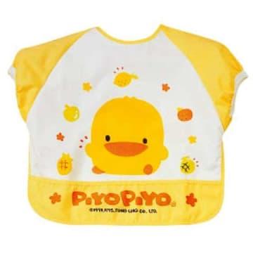 Piyo Piyo short sleeves feeding Bib