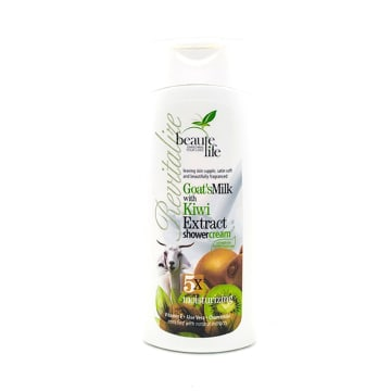 Beaute Life ShowerCream-Goat'sMilk&Kiwi 300ml