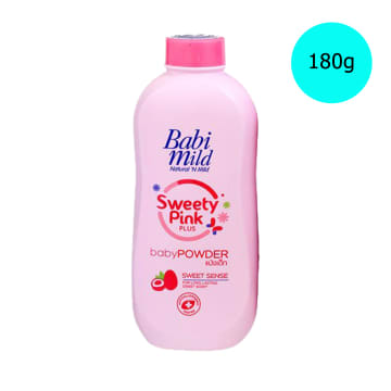Babi Mild Powder Sweety Pink ( 180 g )