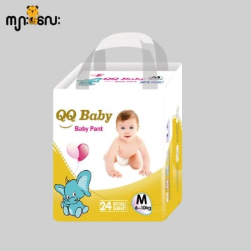 QQ Baby Pant(Medium 24pcs)
