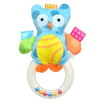 Blue Owl Hand Bell