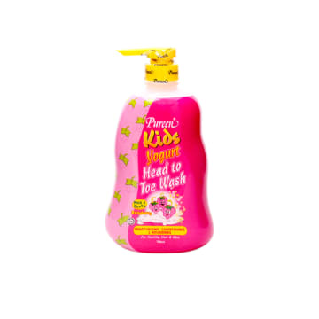 Pureen Kids yogurt Head to Toe Wash - Raspberry (750ml)
