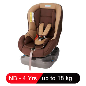 Kidstar Car Seat (Brown)
