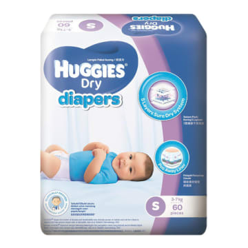 Huggies Diaper Super Jumbo S 60