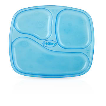 Nuby - 4 Stackable Sectional Plates