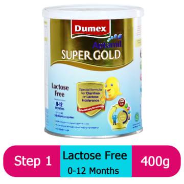 Dumex Aptamil Super Gold Lactose Free (400g)