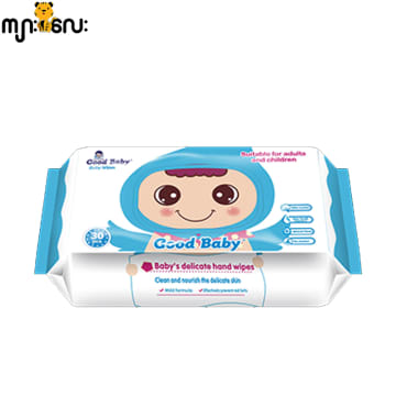 Good Baby Wipes (Blue)-80 Pcs