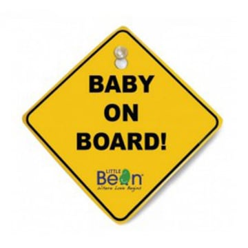 Little Bean SiteSafe Baby on Board