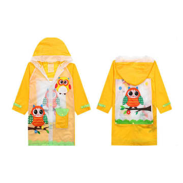 Baby Rain Coat - Yellow