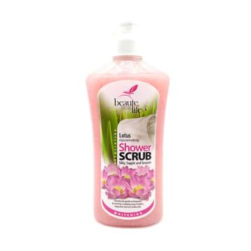 Beaute Life Shower Scrub-Lotus 760ml