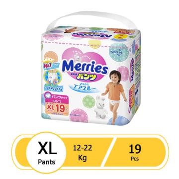 Merries Diaper Pant XL (19 Pcs)
