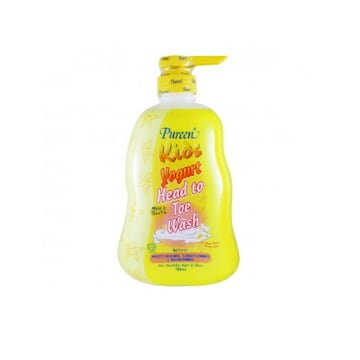 Pureen Kids yogurt Head to Toe Wash (750ml)
