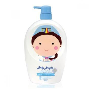 Baby bright Shower Lotion 750ml #Goat Milk Collagen