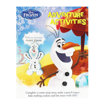 Disney Frozen Adventure Activities: With an awesome eraser jigsaw